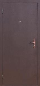 Металлическая дверь Стальная с одним замком